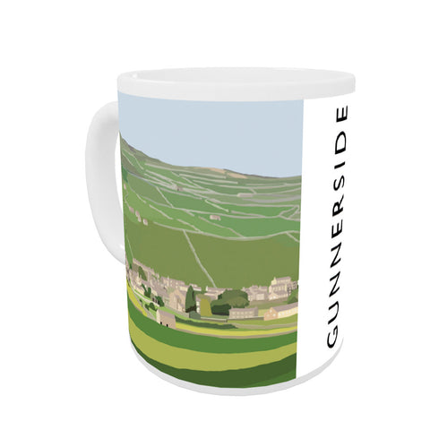 Gunnerside, Yorkshire Coloured Insert Mug