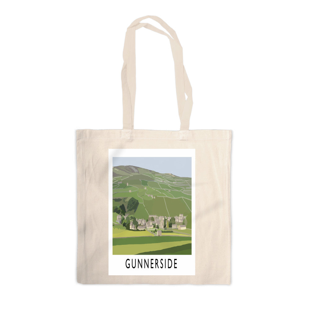 Gunnerside, Yorkshire Canvas Tote Bag