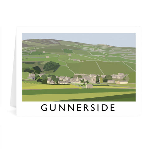 Gunnerside, Yorkshire Greeting Card 7x5