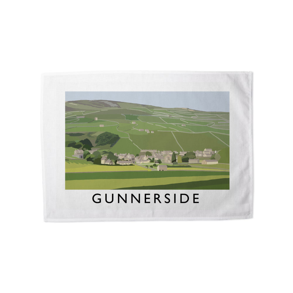 Gunnerside, Yorkshire Tea Towel