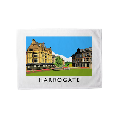 Harrogate, Yorkshire Tea Towel