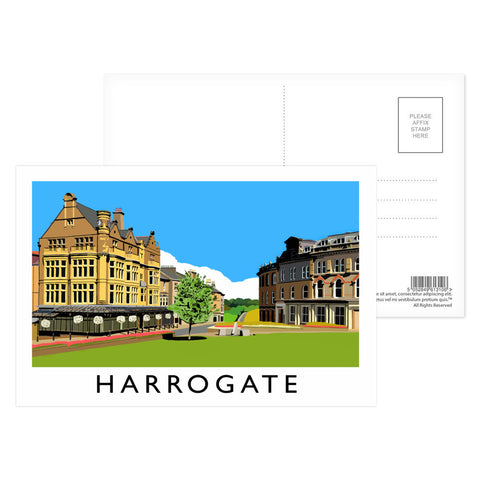 Harrogate, Yorkshire Postcard Pack