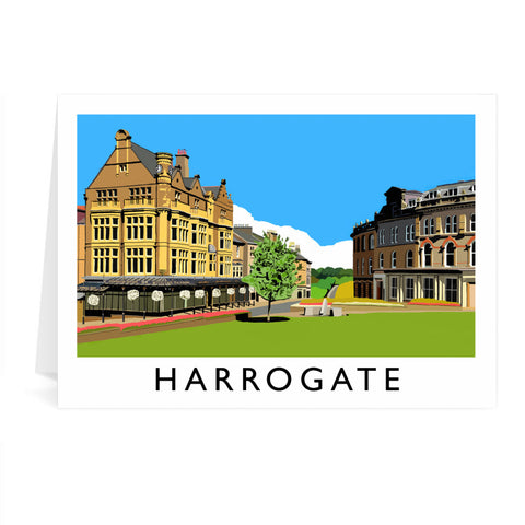 Harrogate, Yorkshire Greeting Card 7x5