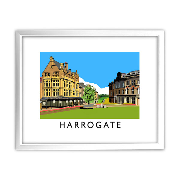 Harrogate, Yorkshire 11x14 Framed Print (White)