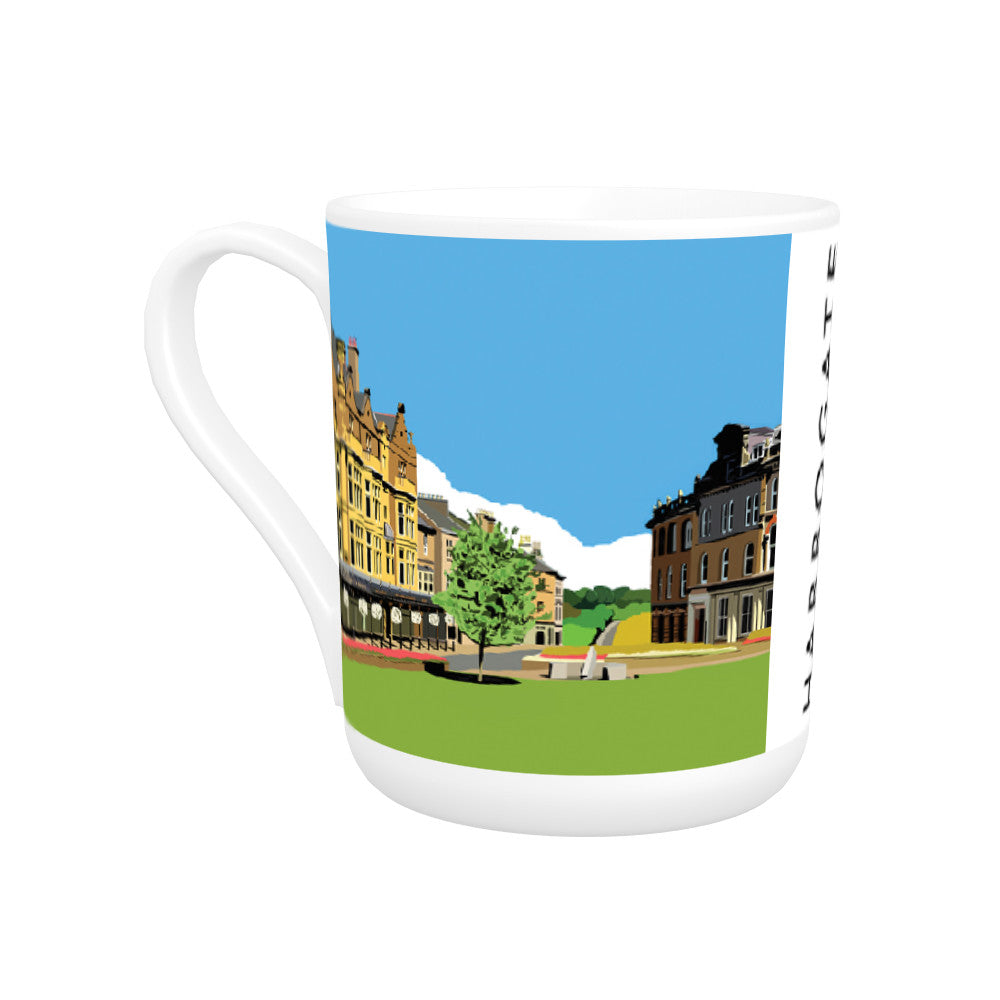 Harrogate, Yorkshire Bone China Mug