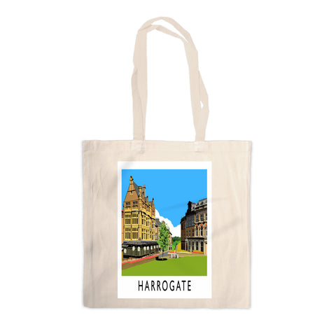 Harrogate, Yorkshire Canvas Tote Bag