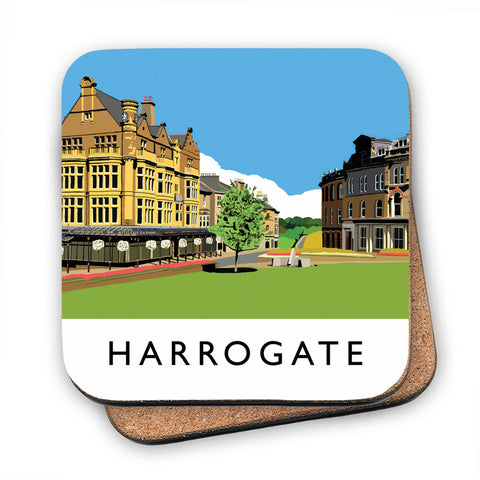 Harrogate, Yorkshire MDF Coaster