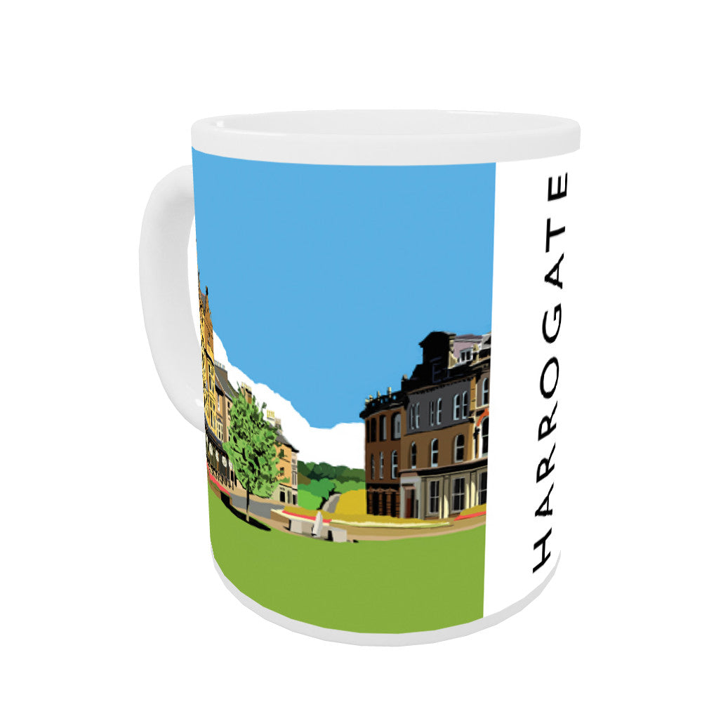 Harrogate, Yorkshire Coloured Insert Mug