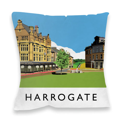Harrogate, Yorkshire Fibre Filled Cushion