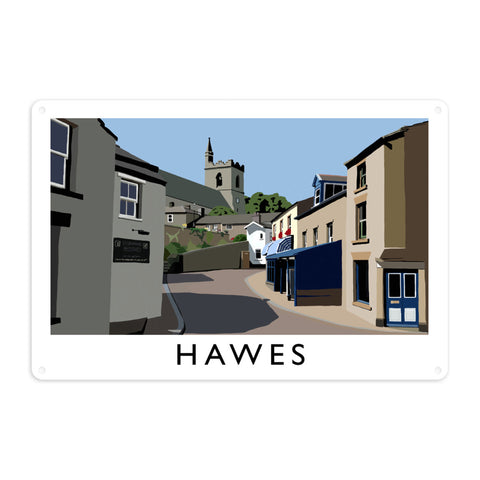 Hawes, Yorkshire Metal Sign