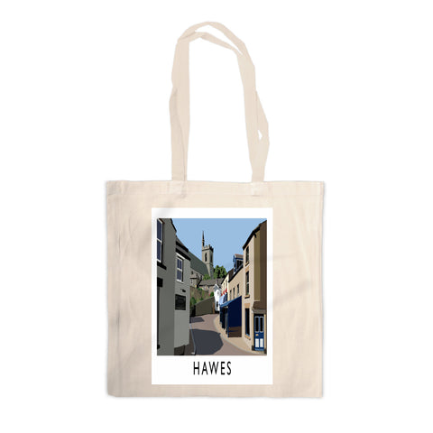 Hawes, Yorkshire Canvas Tote Bag