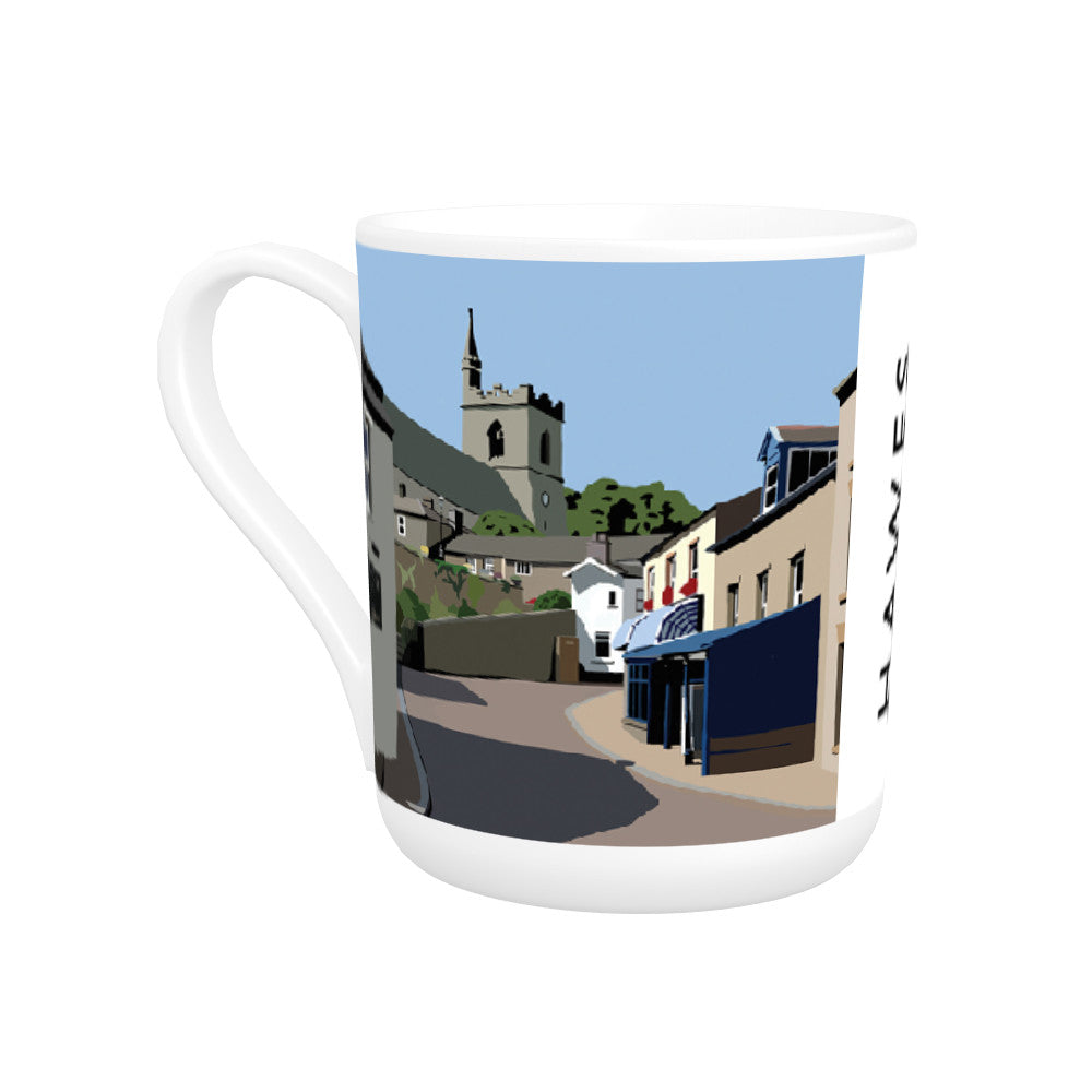 Hawes, Yorkshire Bone China Mug