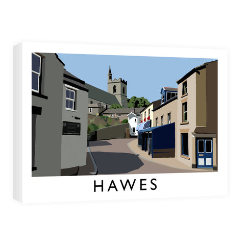 Hawes, Yorkshire Canvas