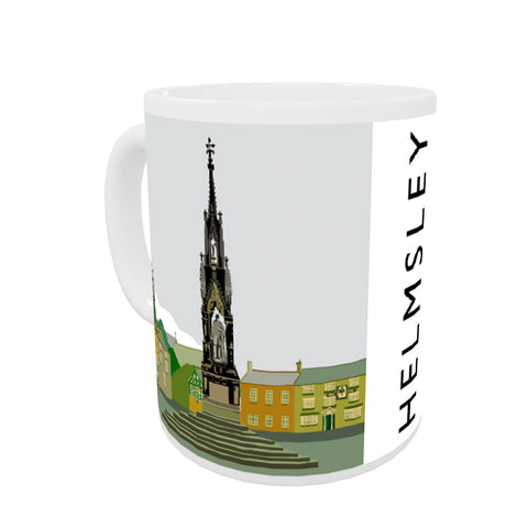 Helmsley, Yorkshire Coloured Insert Mug