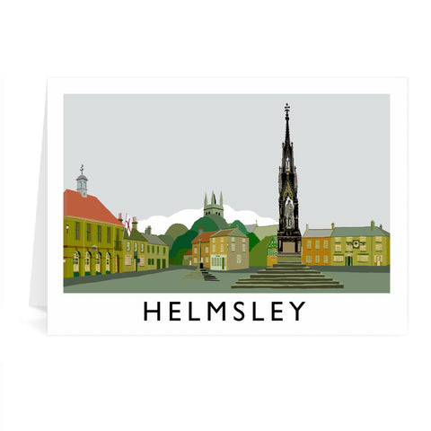 Helmsley, Yorkshire Greeting Card 7x5