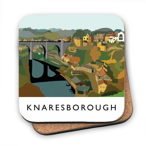 Knaresborough, Yorkshire MDF Coaster