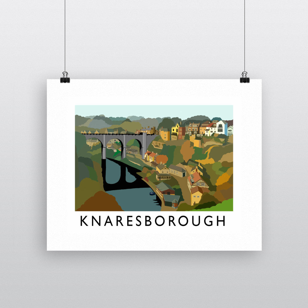 Knaresborough, Yorkshire Fine Art Print