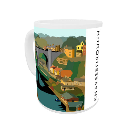 Knaresborough, Yorkshire Coloured Insert Mug