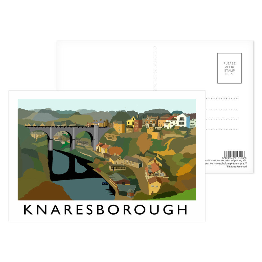 Knaresborough, Yorkshire Postcard Pack
