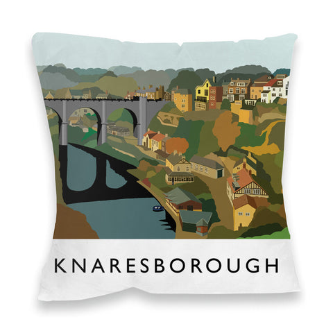 Knaresborough, Yorkshire Fibre Filled Cushion
