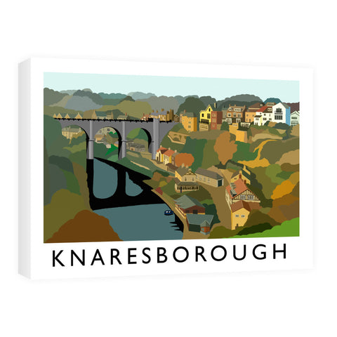Knaresborough, Yorkshire Canvas