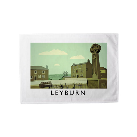 Leyburn, Yorkshire Tea Towel