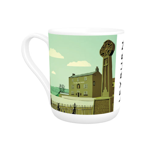 Leyburn, Yorkshire Bone China Mug