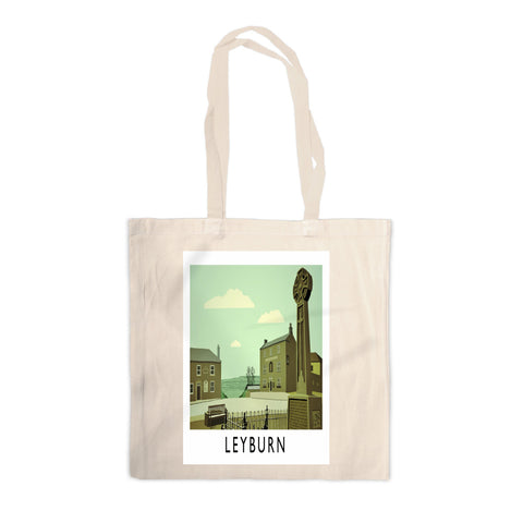 Leyburn, Yorkshire Canvas Tote Bag