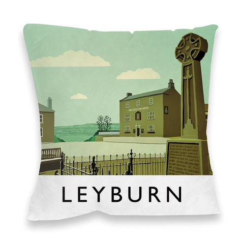 Leyburn, Yorkshire Fibre Filled Cushion