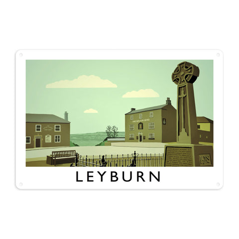 Leyburn, Yorkshire Metal Sign