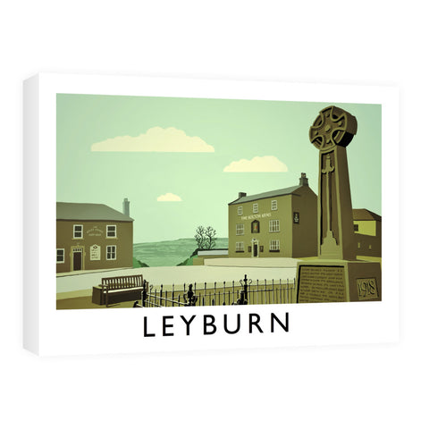 Leyburn, Yorkshire Canvas