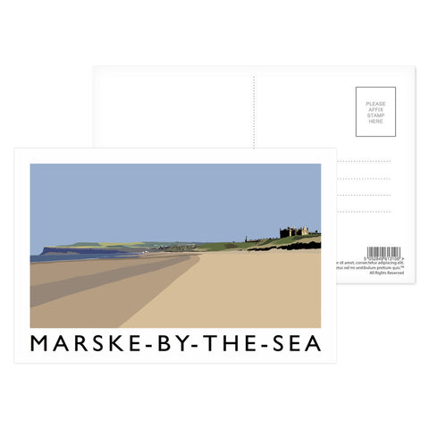 Marske-By-The-Sea, Yorkshire Postcard Pack