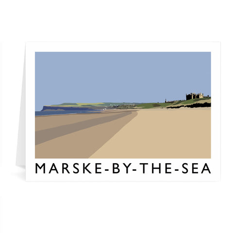 Marske-By-The-Sea, Yorkshire Greeting Card 7x5