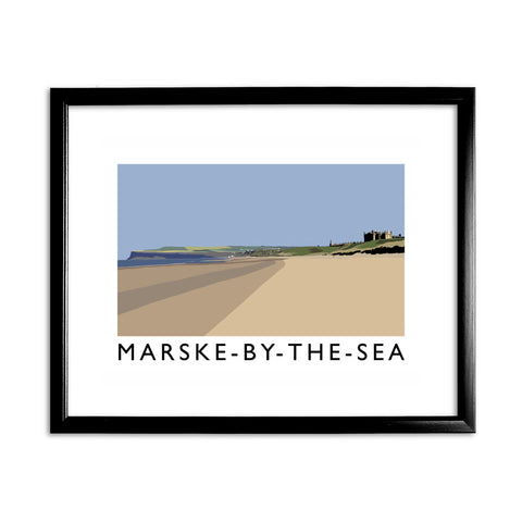 Marske-By-The-Sea, Yorkshire 11x14 Framed Print (Black)
