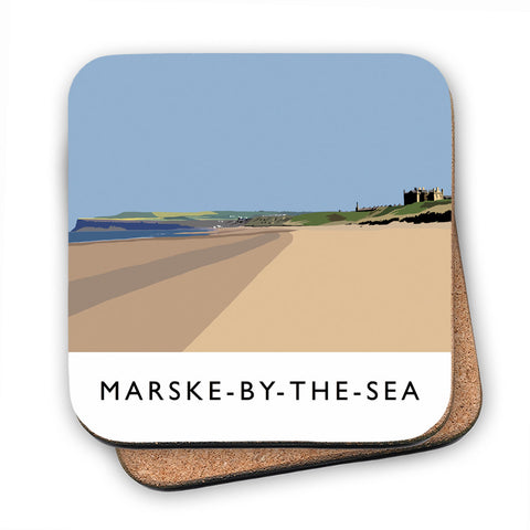 Marske-By-The-Sea, Yorkshire MDF Coaster