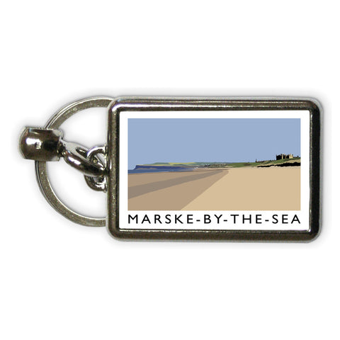 Marske-By-The-Sea, Yorkshire Metal Keyring