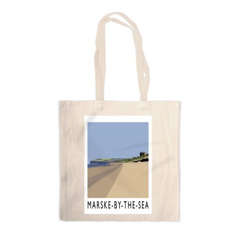 Marske-By-The-Sea, Yorkshire Canvas Tote Bag