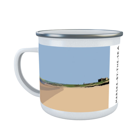 Marske-By-The-Sea, Yorkshire Enamel Mug