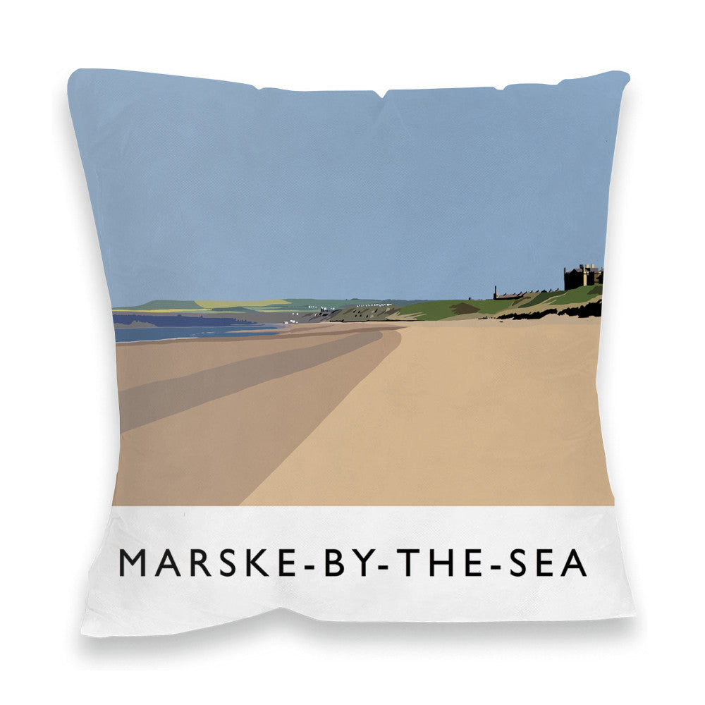 Marske-By-The-Sea, Yorkshire Fibre Filled Cushion