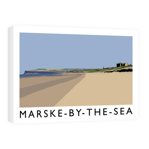 Marske-By-The-Sea, Yorkshire Canvas
