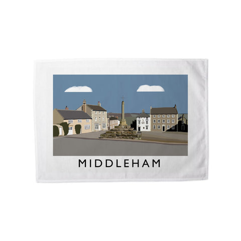 Middleham, Yorkshire Tea Towel