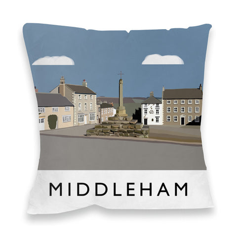 Middleham, Yorkshire Fibre Filled Cushion