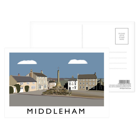 Middleham, Yorkshire Postcard Pack