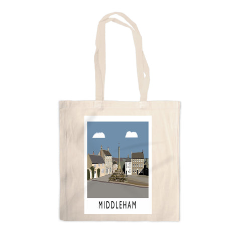 Middleham, Yorkshire Canvas Tote Bag