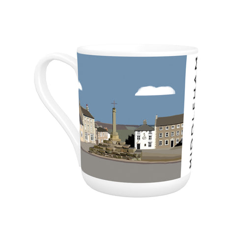 Middleham, Yorkshire Bone China Mug