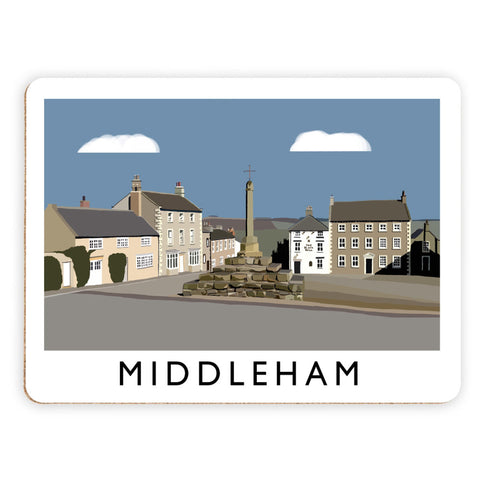 Middleham, Yorkshire Placemat