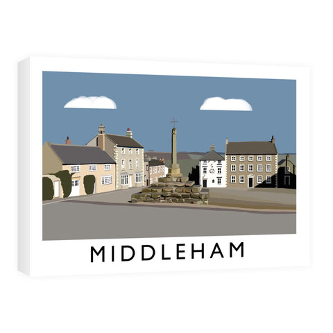 Middleham, Yorkshire Canvas