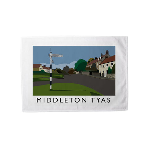 Middleton Tyas, Yorkshire Tea Towel