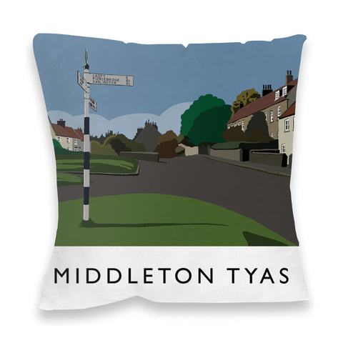 Middleton Tyas, Yorkshire Fibre Filled Cushion