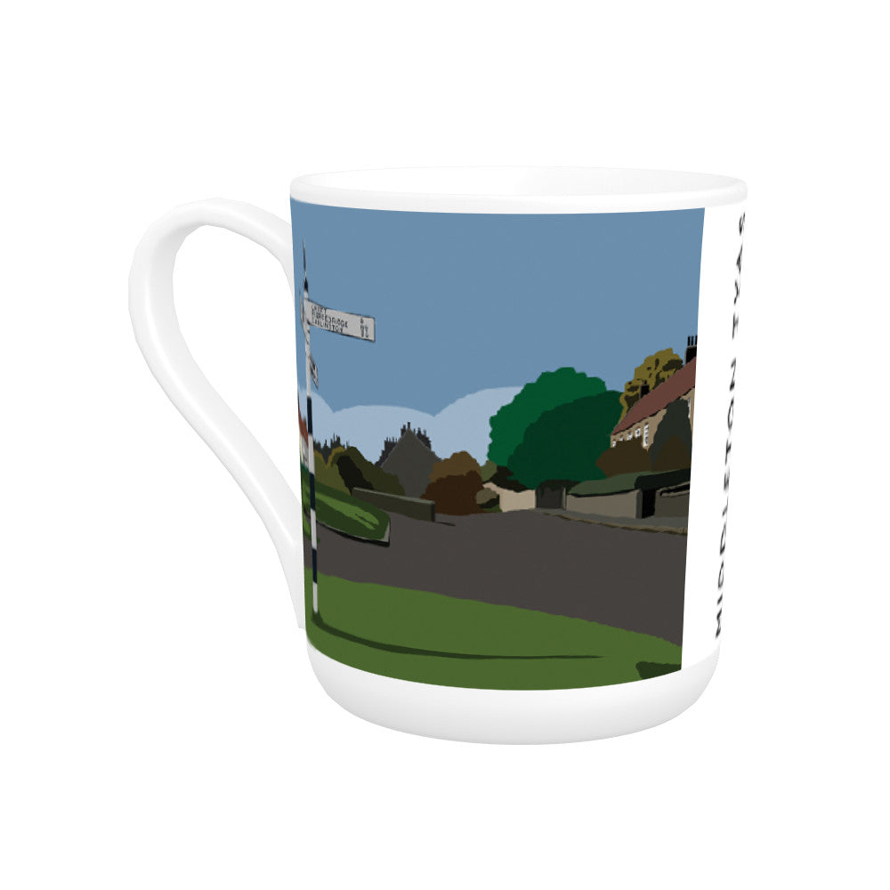 Middleton Tyas, Yorkshire Bone China Mug